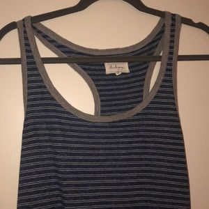 LOU & GREY striped maxi dress